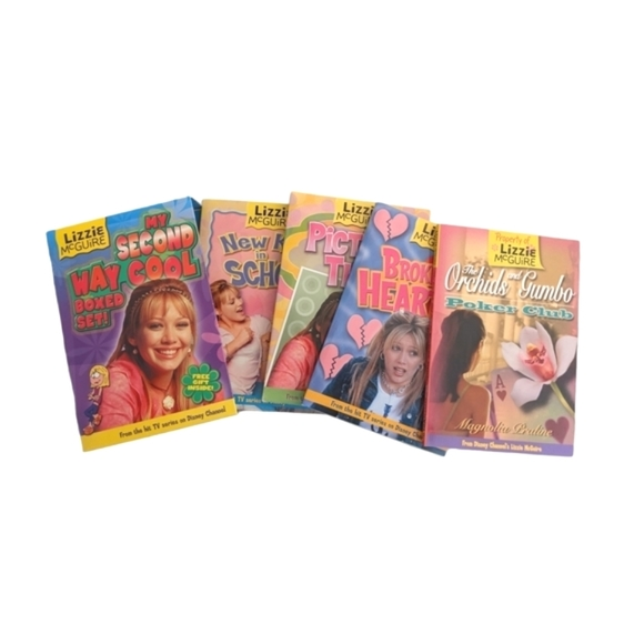 Lizzie McGuire My Second Way Cool Boxed Set Books